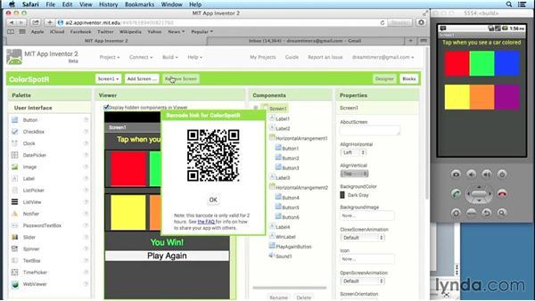 صفحه طراحی یا Designer در برنامه App Inventor