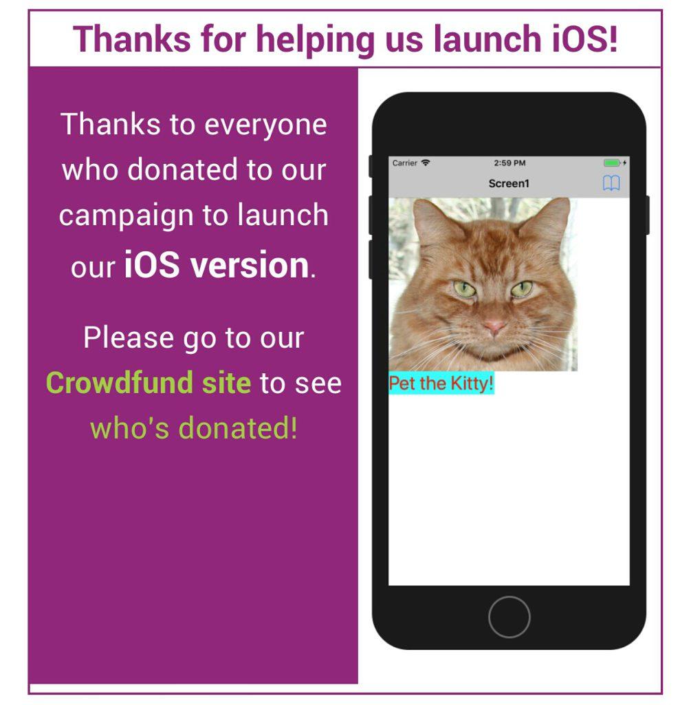 نوید افزودن امکان برنامه نویسی IOS در ورژن آینده App Inventor