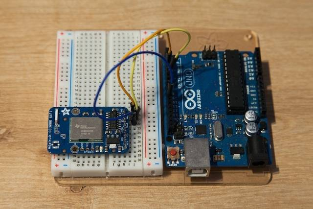 برد آردوینو و برد برد/Arduino and Bread Board
